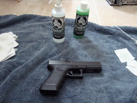 Frog Lube CLP Review:Glock 22