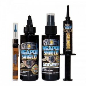 Weapon Shield Solvent and CLP