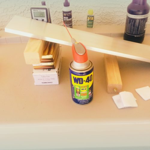 WD-40 Friction Test 2