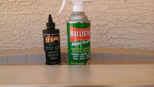 Ballistol CLP Gun Oil Wear Test