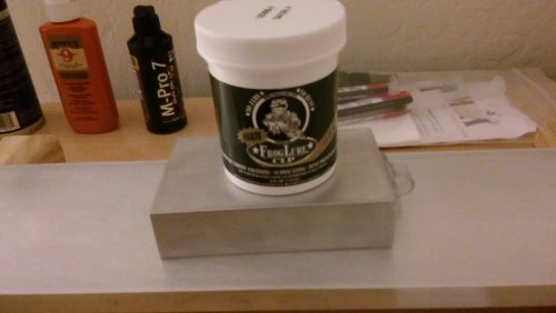 Gun Oil Wear Test - Froglube CLP Paste